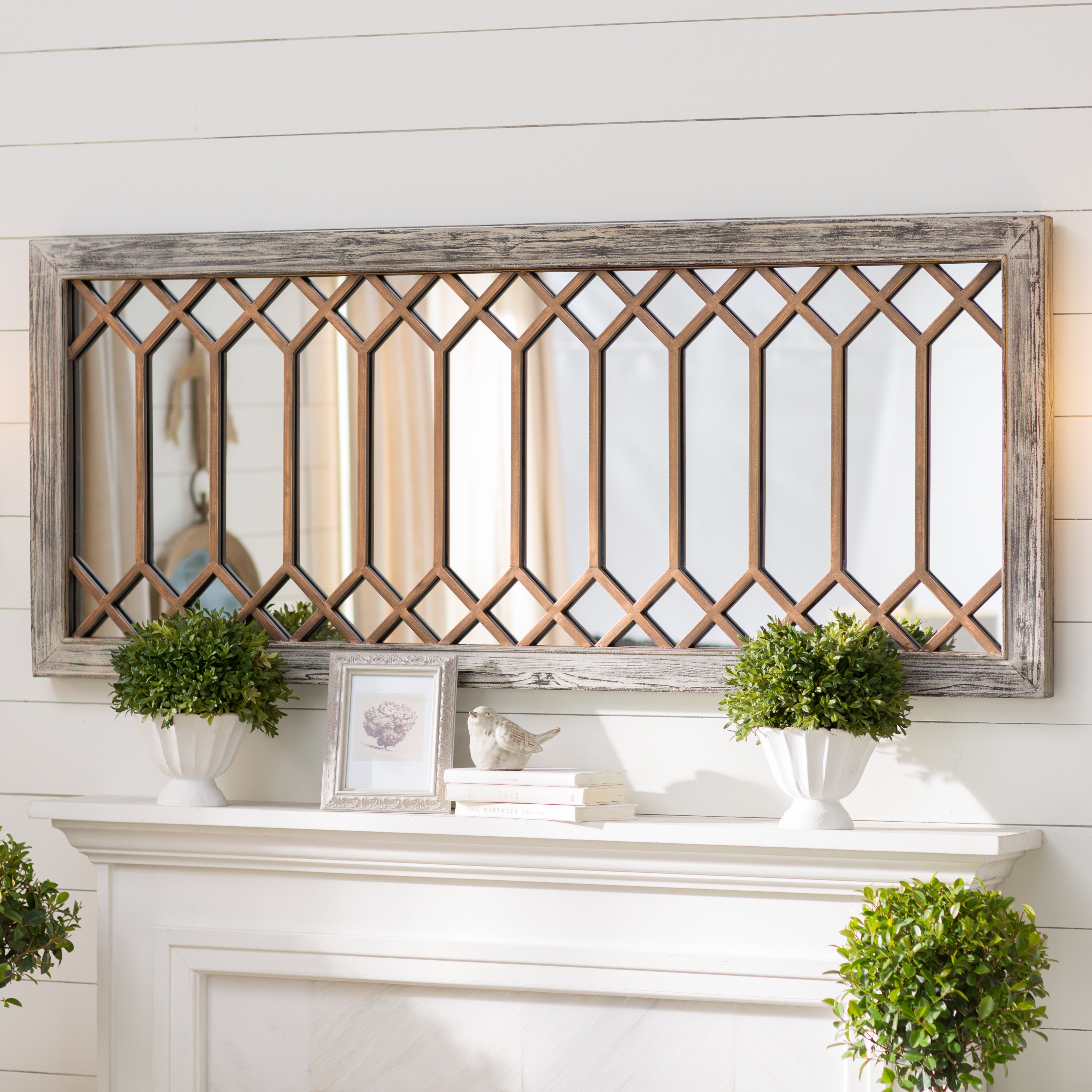 Polito Cottage/country Wall Mirror Pertaining To Polen Traditional Wall Mirrors (View 4 of 20)