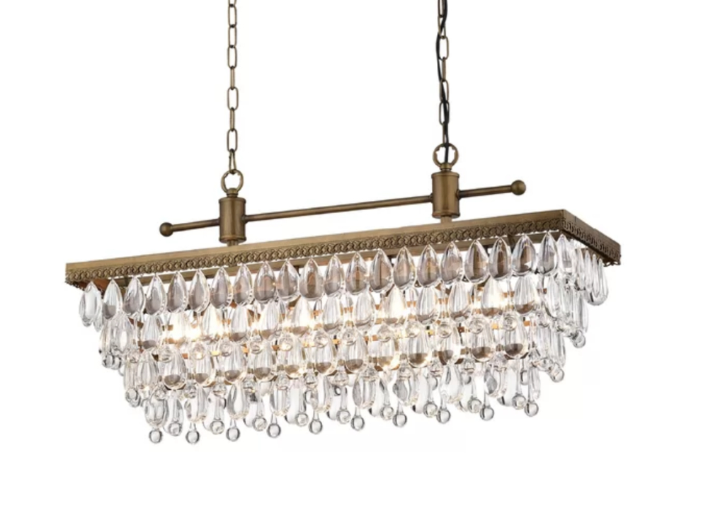 Pottery Barn Lighting Look Alikes For Less! — Trubuild Within Hatfield 3 Light Novelty Chandeliers (Image 20 of 20)