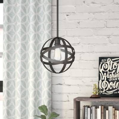 Poynter 1 Light Single Cylinder Pendant | Decorating Ideas With Regard To Poynter 1 Light Single Cylinder Pendants (View 7 of 25)