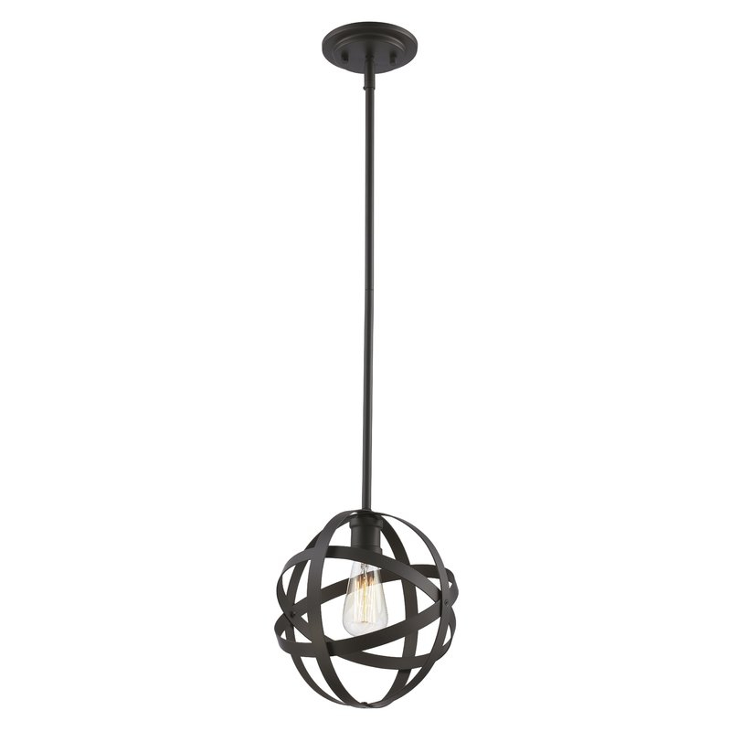Prange 1 Light Globe Pendant In 1 Light Globe Pendants (Image 16 of 25)