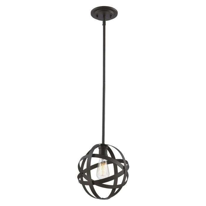 Prange 1 Light Single Globe Pendant | Kitchens | Globe Within Poynter 1 Light Single Cylinder Pendants (View 22 of 25)