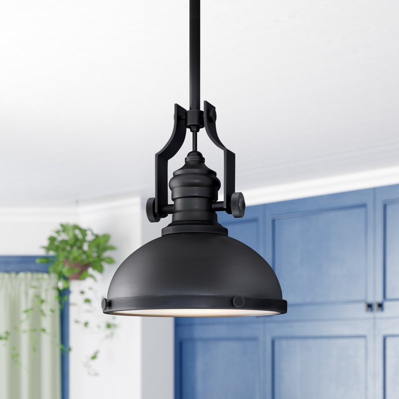 Priston 1 Light Dome Pendant With Proctor 1 Light Bowl Pendants (View 21 of 25)