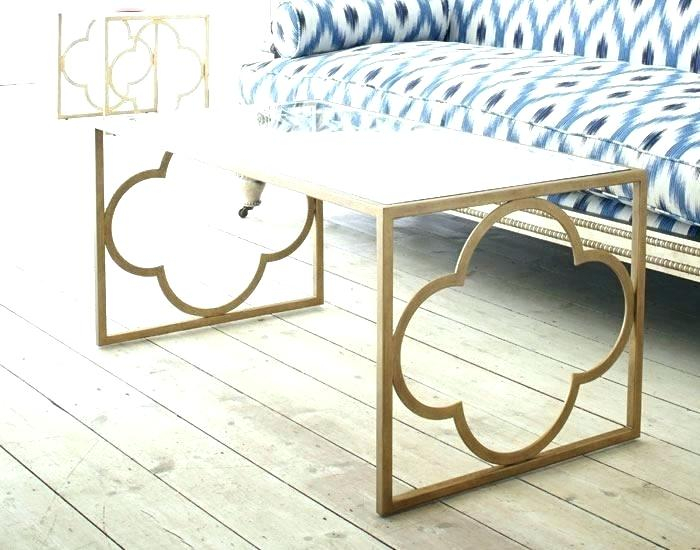 Quatrefoil Coffee Table – Avrasya For The Curated Nomad Quatrefoil Goldtone Metal And Glass Coffee Tables (View 11 of 50)