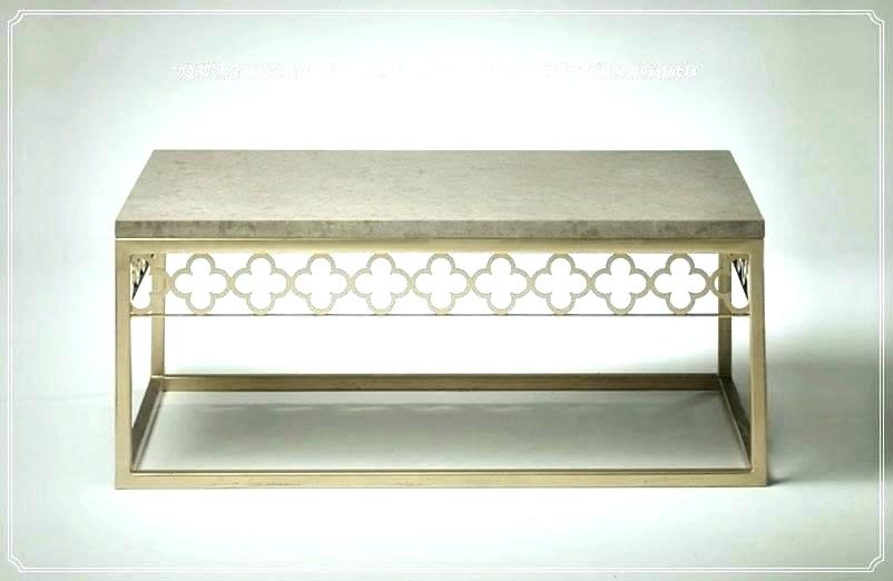 Quatrefoil Coffee Table – Avrasya With Regard To The Curated Nomad Quatrefoil Goldtone Metal And Glass Coffee Tables (View 16 of 50)