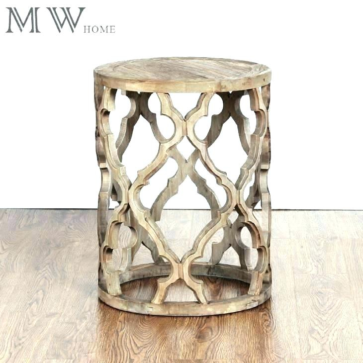 Quatrefoil Coffee Tableuttermost Metal And Glass Regarding The Curated Nomad Quatrefoil Goldtone Metal And Glass Coffee Tables (View 31 of 50)