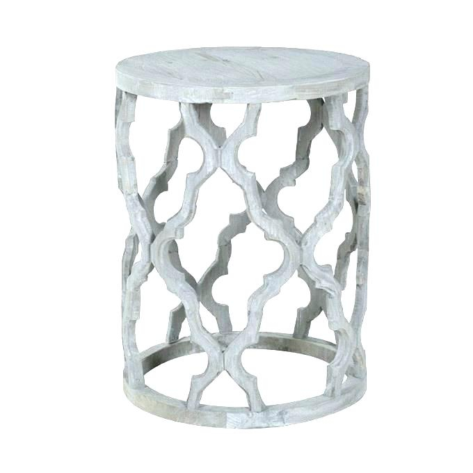 Quatrefoil End Table – Tprojectmodern (View 20 of 50)