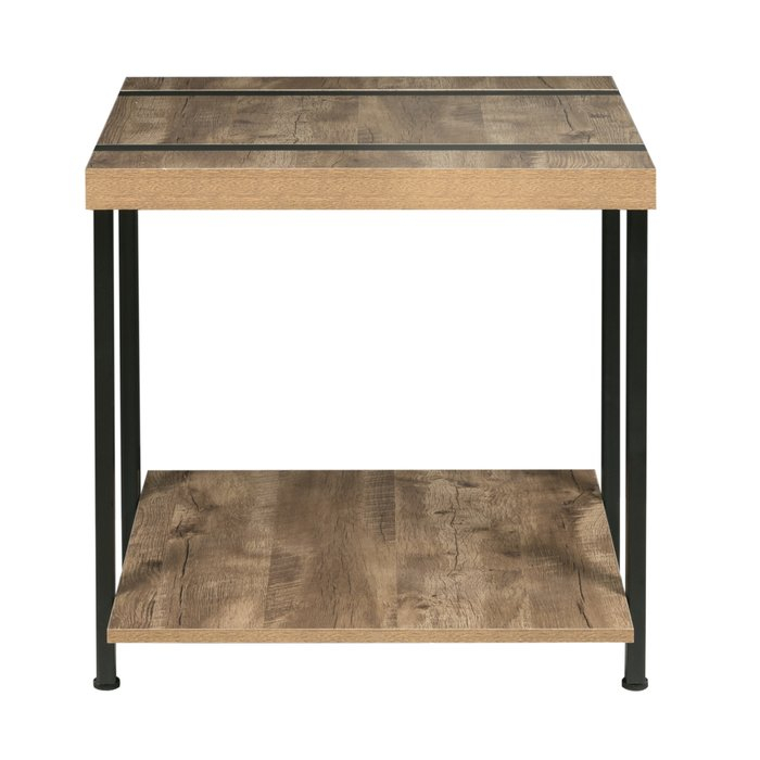 Rainey End Table Within Sawyer Industrial Reclaimed Rectangular Cocktail Tables (Image 23 of 50)