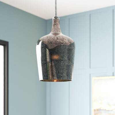 Rashad 1 Light Single Cylinder Pendant & Reviews | Joss & Main Inside Giacinta 1 Light Single Bell Pendants (View 16 of 25)