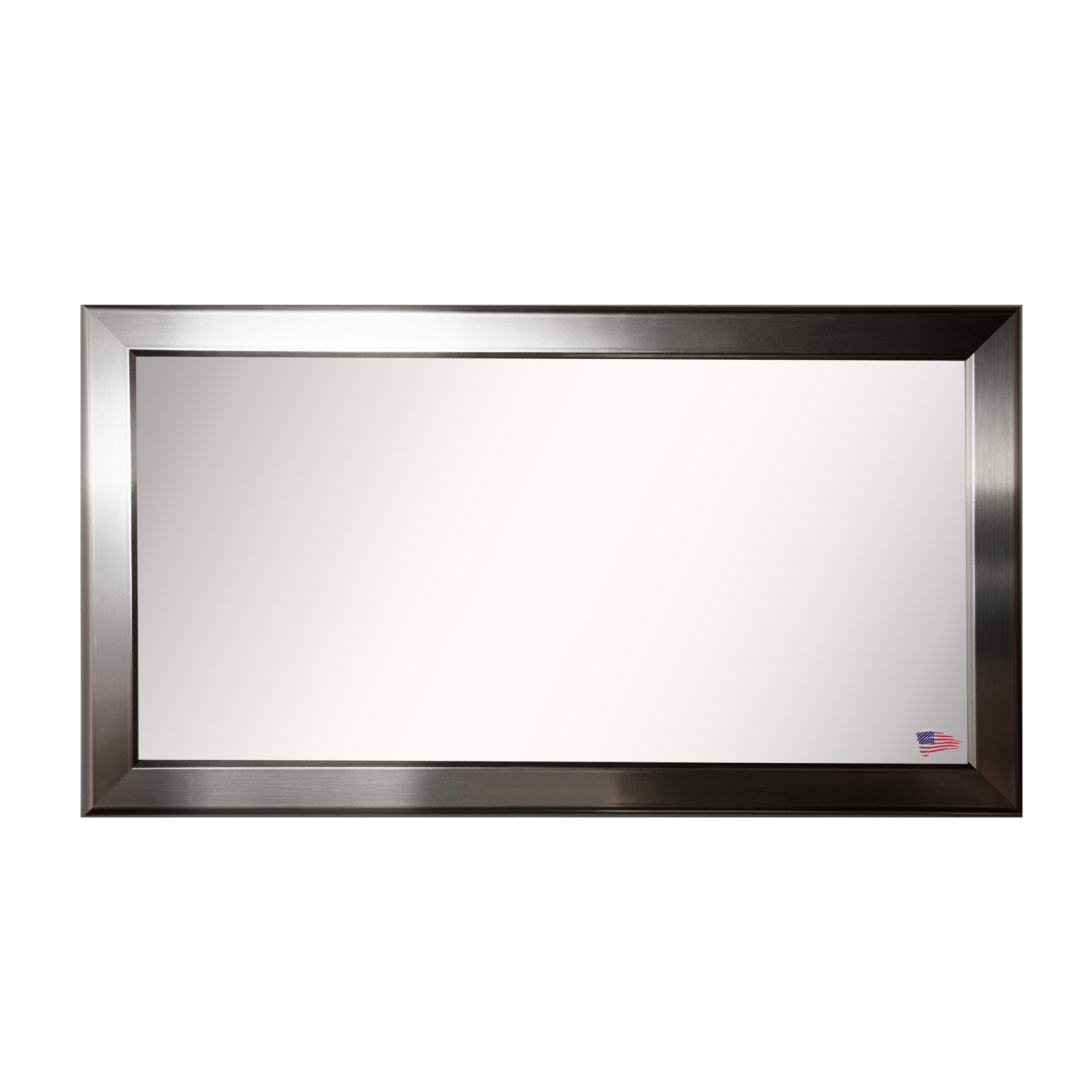 Rayne Mirrors Rounded Double Vanity Wall Mirror Pertaining To Vertical Round Wall Mirrors (Image 15 of 20)