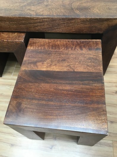 Real Wood Coffee Table – Page 3 – Modern Coffee Table Ideas Throughout Copper Grove Chrysotome Square Unfinished Solid Parawood Coffee Tables (View 19 of 25)