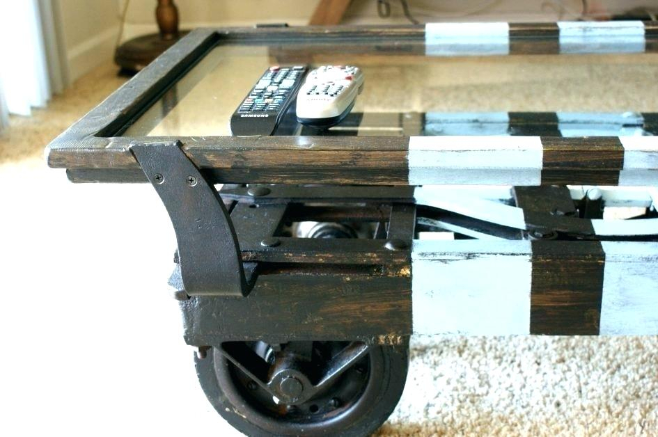 Reclaimed Wood Coffee Table Wheels – Me Monaco Within Montgomery Industrial Reclaimed Wood Coffee Tables With Casters (View 48 of 50)