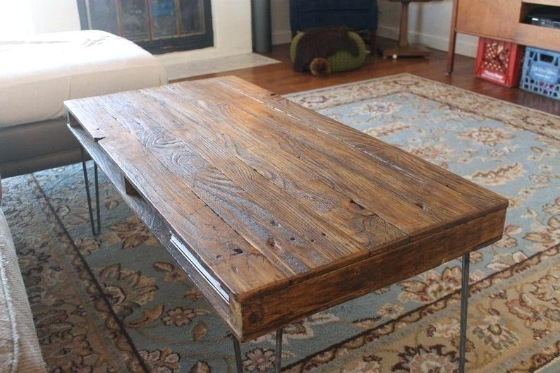 Reclaimed Wood Coffee Tables – Meliaivery (View 13 of 50)