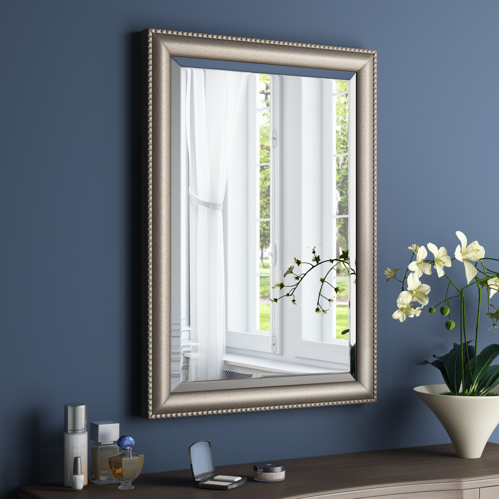 Rectangle Framed Accent Mirror Intended For Bristol Accent Mirrors (Image 19 of 20)