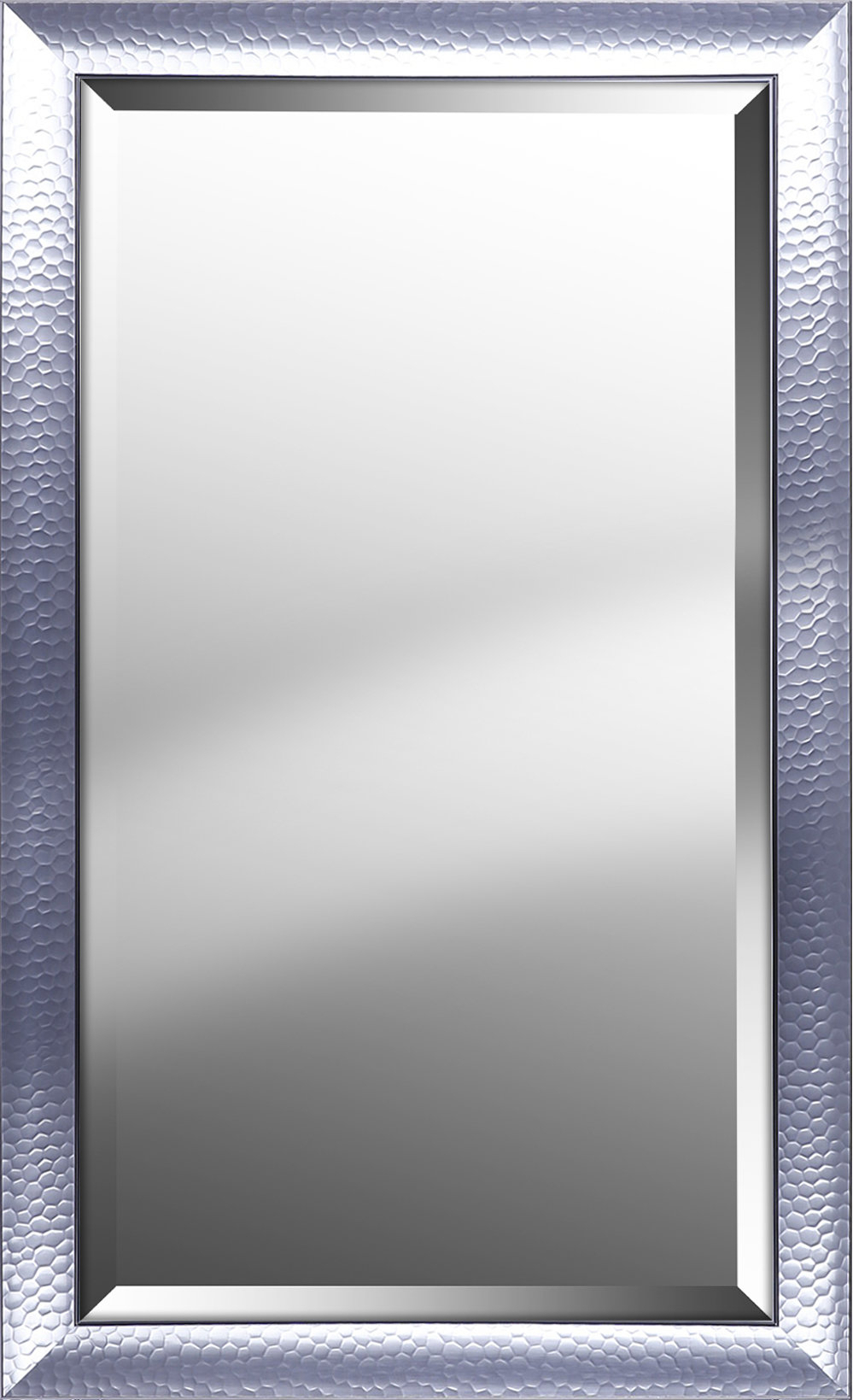 Rectangle Pattern Modern & Contemporary Beveled Accent Mirror For Modern & Contemporary Beveled Accent Mirrors (View 12 of 20)