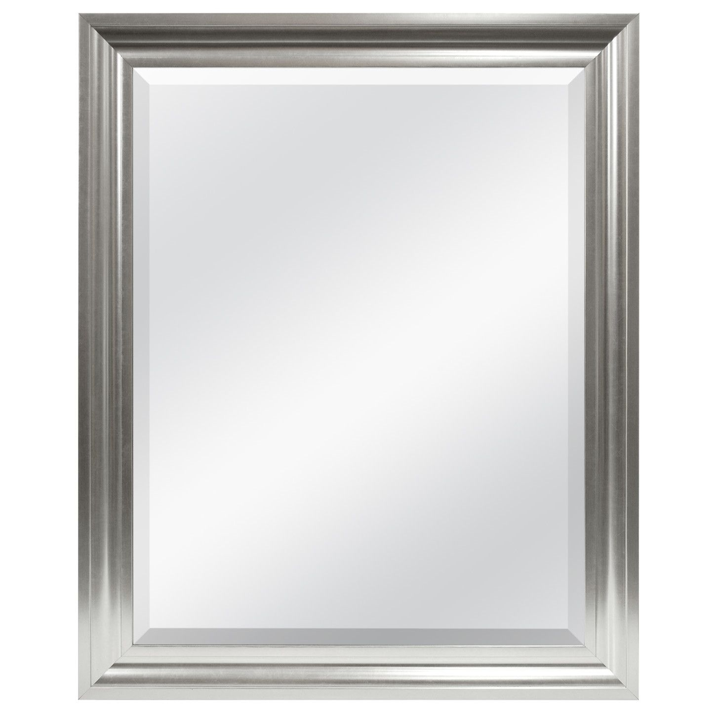Rectangle Plastic Beveled Wall Mirror | Mirrors | Beveled Inside Rectangle Pewter Beveled Wall Mirrors (Image 18 of 20)