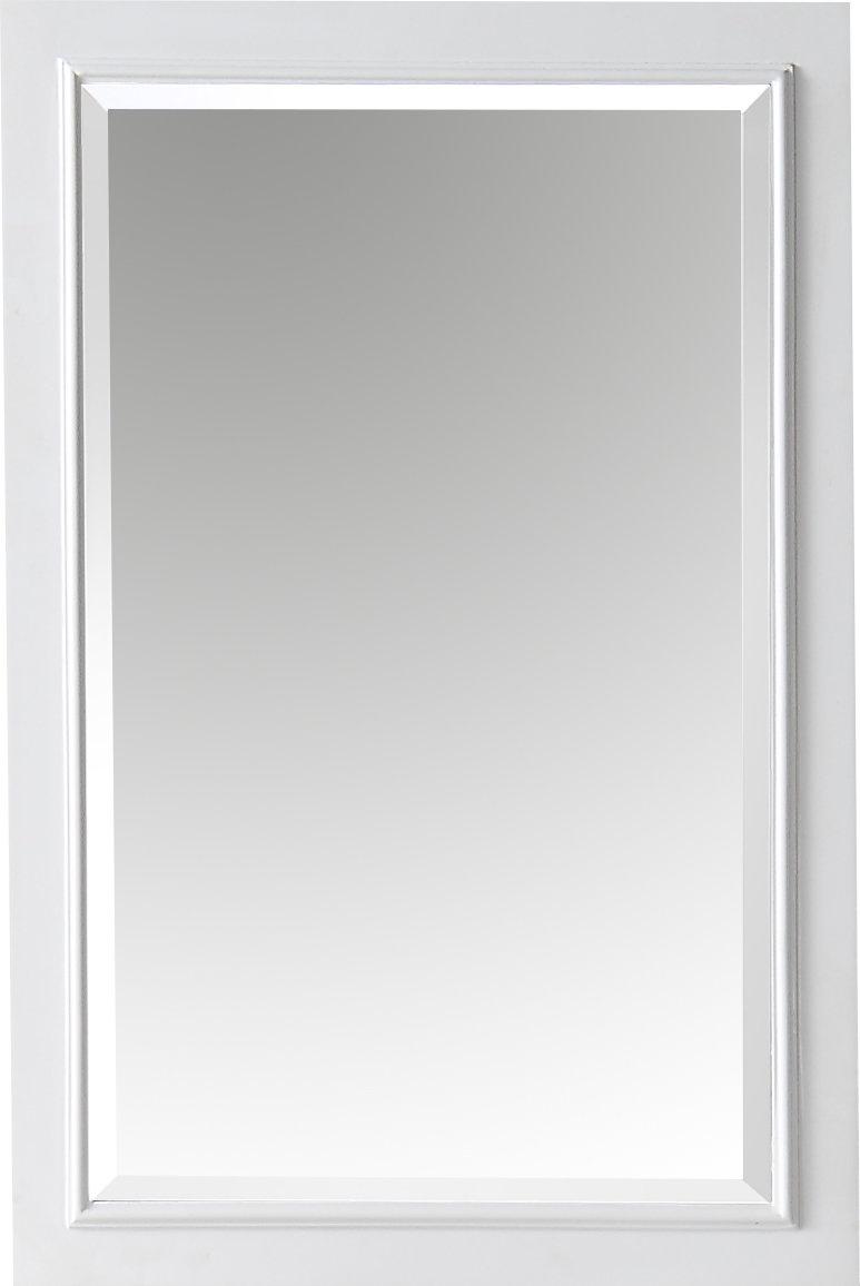 Rectangle Solid Wood Bathroom / Vanity Mirror Regarding Mexborough Bathroom/vanity Mirrors (Image 14 of 20)