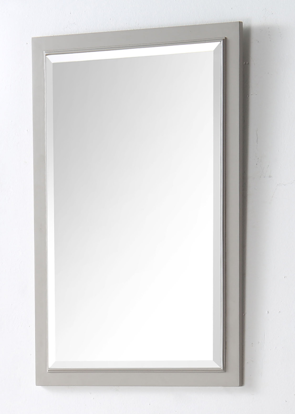 Rectangle Solid Wood Bathroom / Vanity Mirror With Regard To Burgoyne Vanity Mirrors (View 13 of 20)