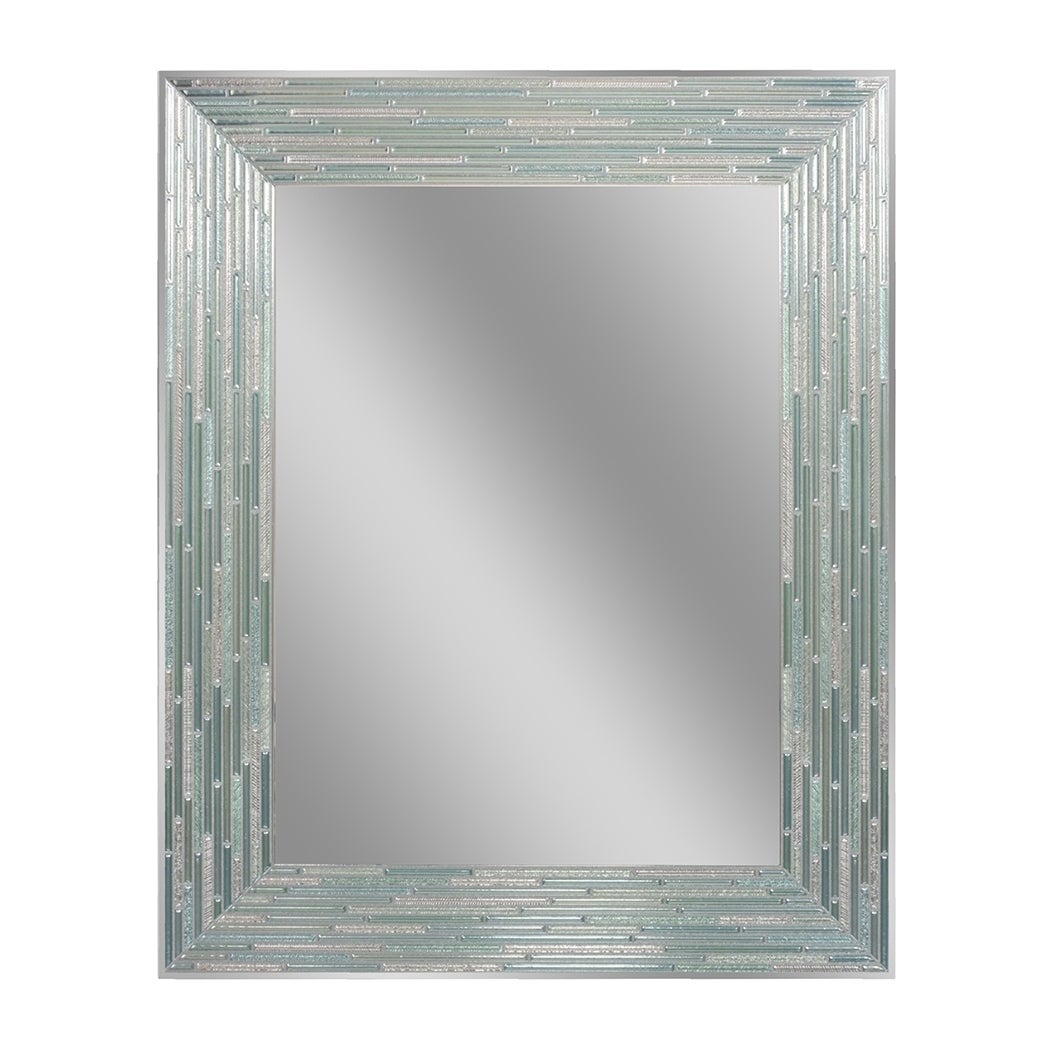 Rectangular, Wall Mirror | Shop Online At Overstock In Rectangle Ornate Geometric Wall Mirrors (Photo 14 of 20)