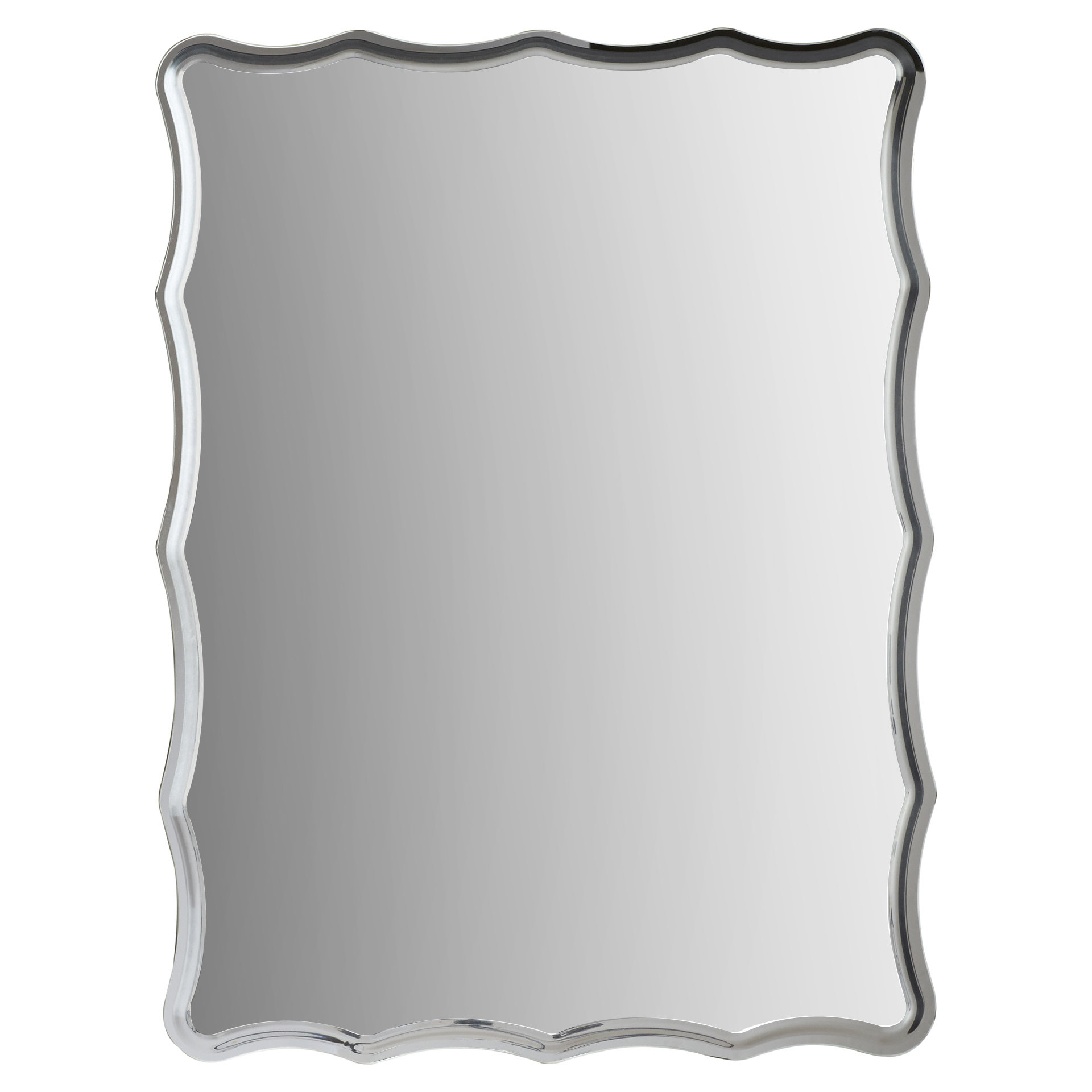 Redcliffe Frameless Wall Mirror With Logan Frameless Wall Mirrors (Image 13 of 20)