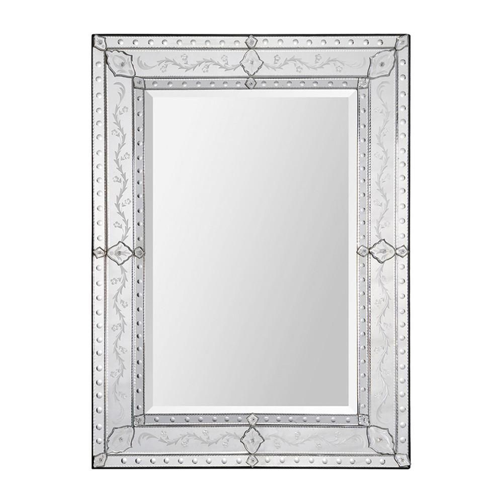 Ren Wil Gianna Wall Mount Mirror Framed Vertical Large Intended For Bristol Accent Mirrors (Image 20 of 20)
