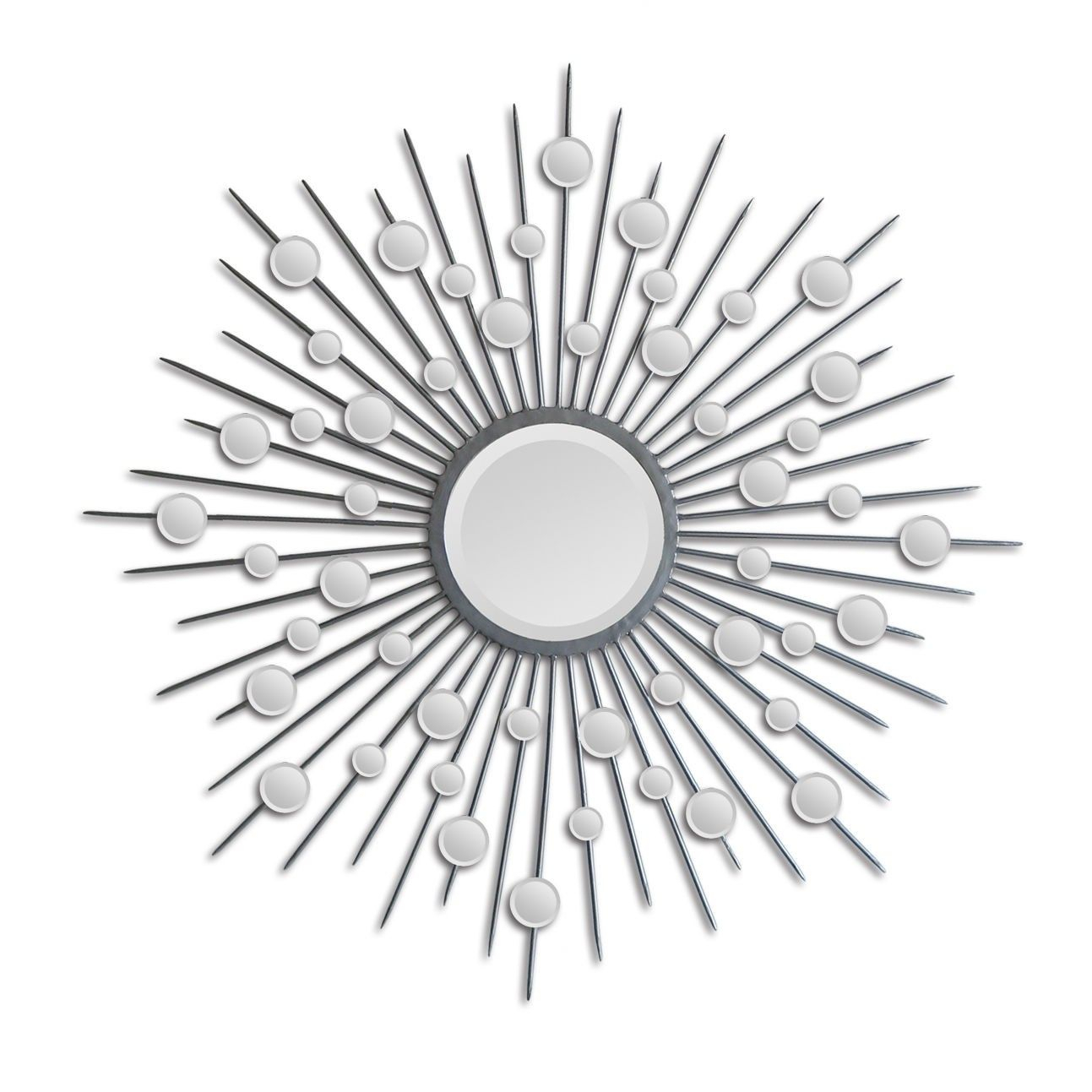 Ren Wil Starburst Mirror In Silver – Mt798 | My New Pad In With Orion Starburst Wall Mirrors (Image 11 of 20)