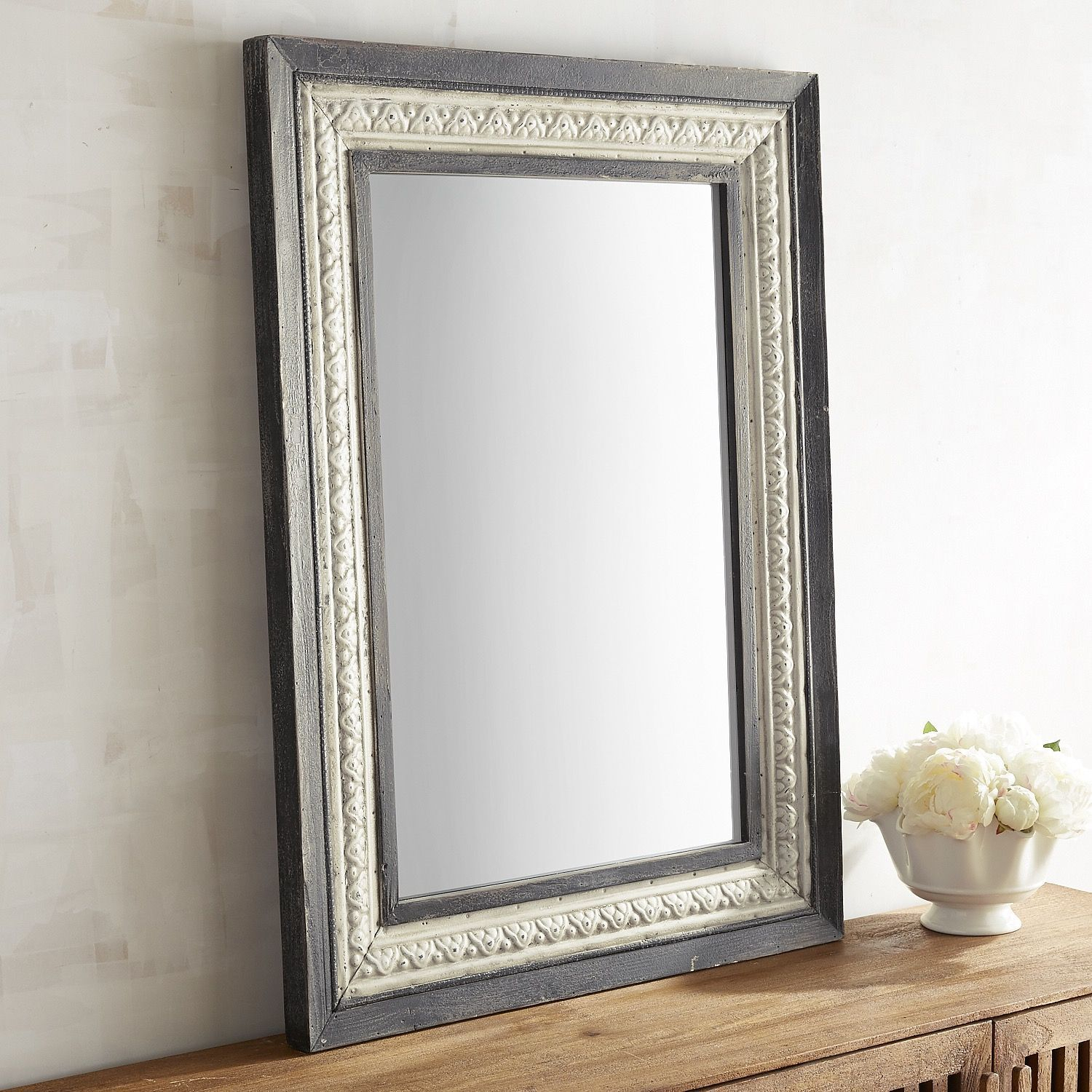 Renzo Noir Mirror | House In 2019 | Mirror, Teal Home Decor With Boyers Wall Mirrors (Image 18 of 20)
