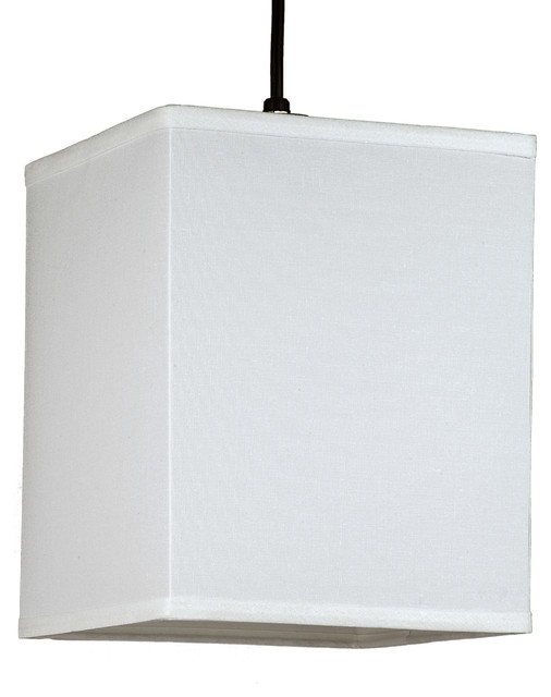 Rex Small Square Pendant Light In Natural Linen Shade Within Buster 5 Light Drum Chandeliers (View 17 of 20)