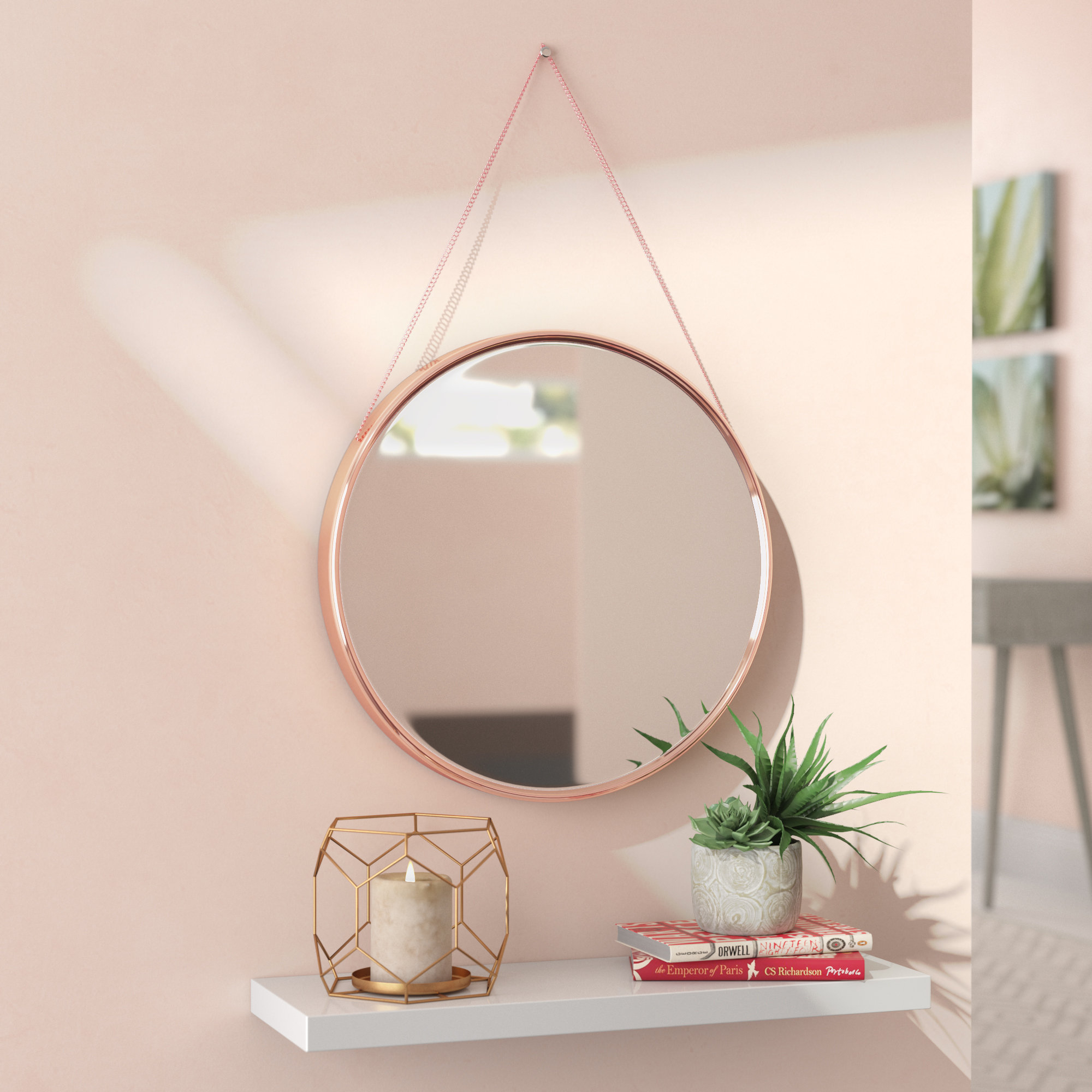 Rhein Accent Mirror With Regard To Tanner Accent Mirrors (View 12 of 20)