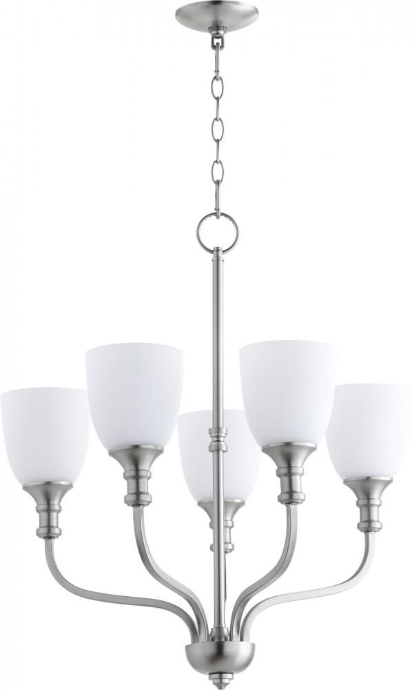 Richmond 5Lt Chand – Stn : R39W   Lights Unlimited Inc Pertaining To Hayden 5 Light Shaded Chandeliers (Image 18 of 20)