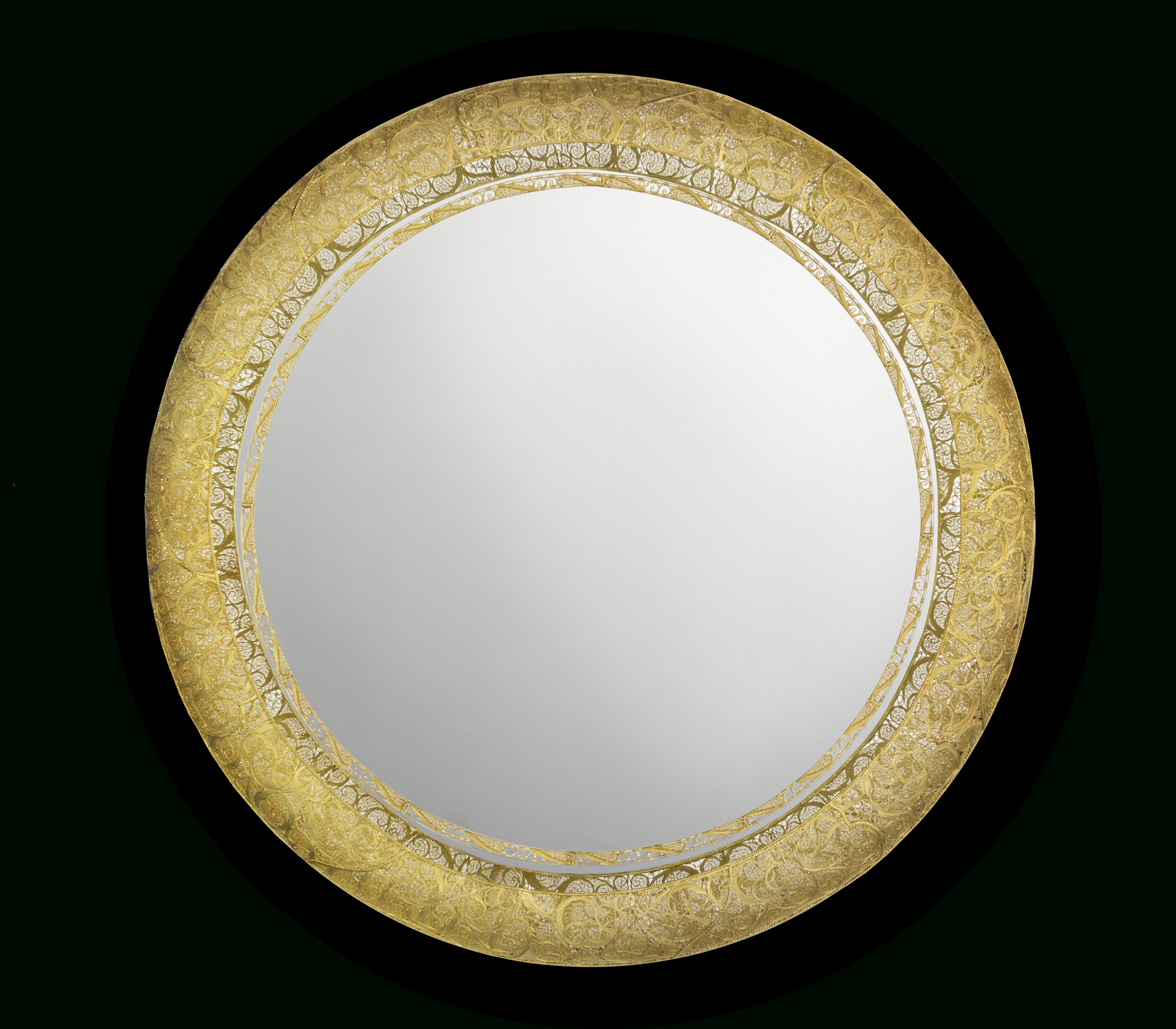 Ring Filigree Mirror   Boca Do Lobo Exclusive Design Intended For Polen Traditional Wall Mirrors (View 18 of 20)
