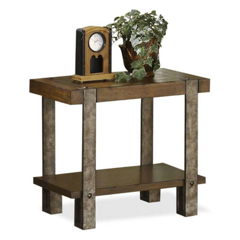 Riverside Sierra Chair Side Table – 3410 | Products Throughout Carbon Loft Lawrence Reclaimed Wood 42 Inch Coffee Tables (View 43 of 50)
