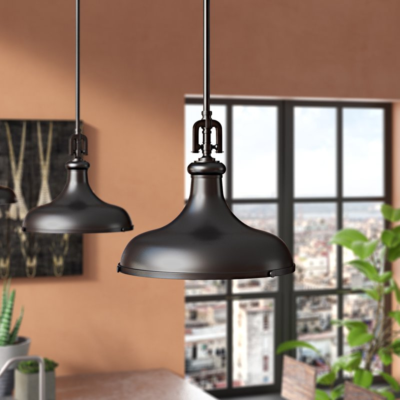 Rockridge 1 Light Single Dome Pendant Pertaining To Mueller 1 Light Single Dome Pendants (View 12 of 25)