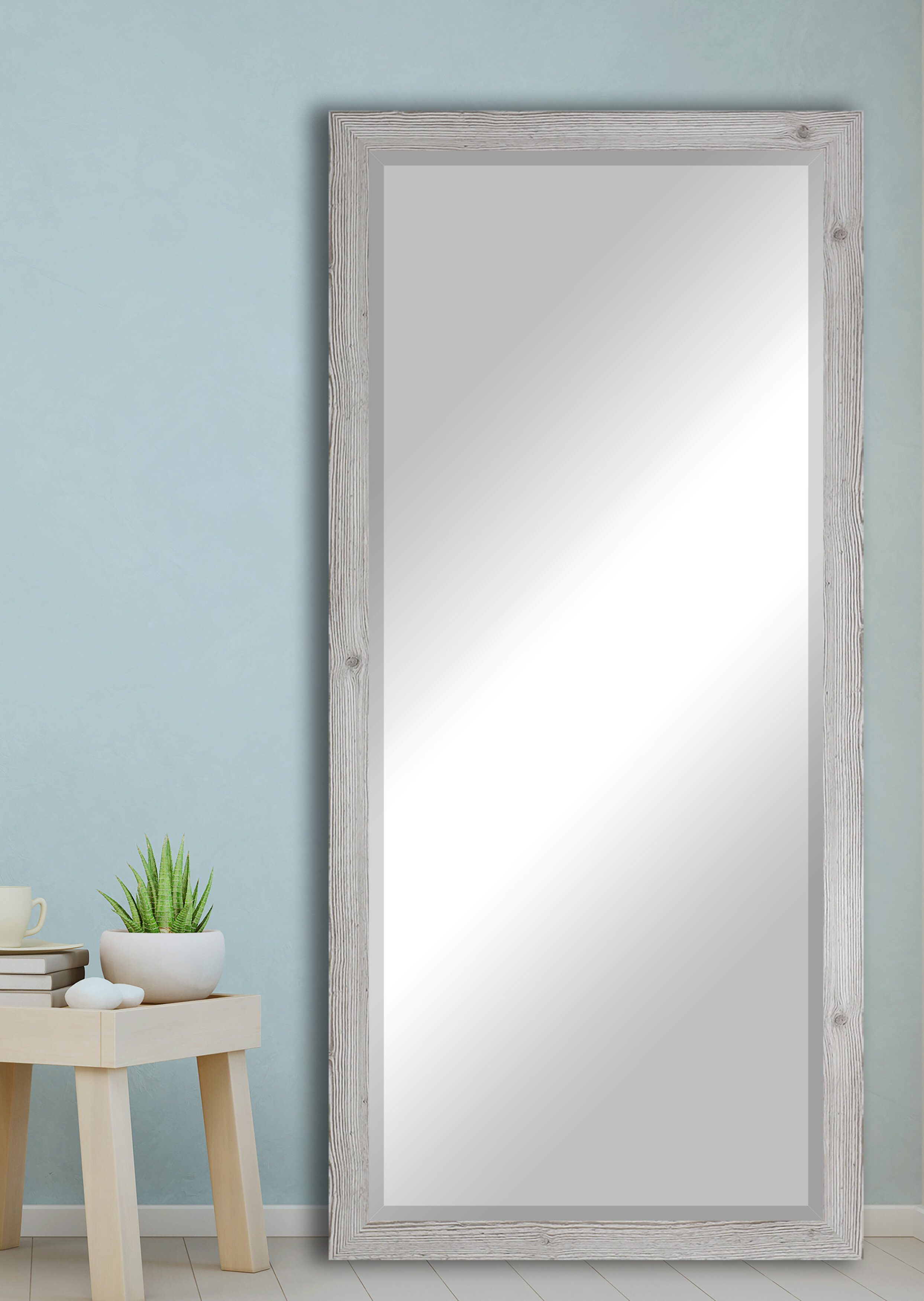 Rosborough Traditional Extra Tall Floor Accent Mirror With Regard To Traditional Accent Mirrors (View 9 of 20)