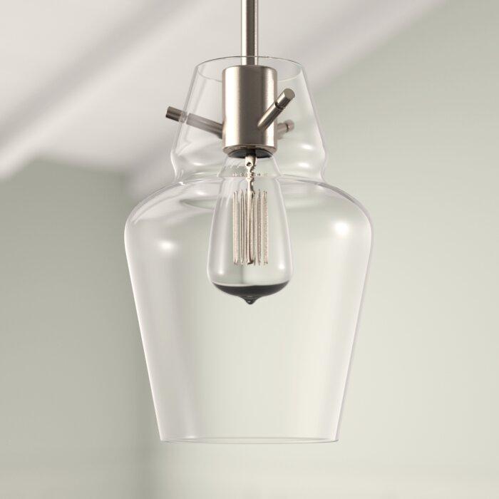Roslindale 1 Light Single Bell Pendant For Roslindale 1 Light Single Bell Pendants (View 4 of 25)