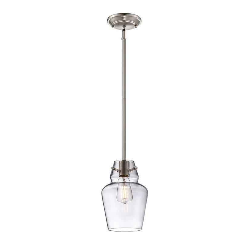 Roslindale 1 Light Single Bell Pendant Regarding Jayce 1 Light Cylinder Pendants (View 17 of 25)
