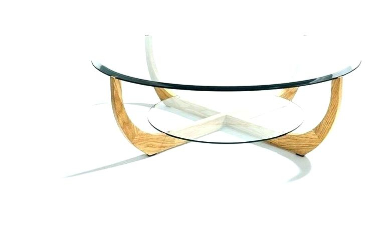 Round Chrome And Glass Coffee Table – Hybridmediasl In Strata Chrome Glass Coffee Tables (View 13 of 25)