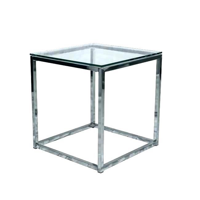 Round Chrome And Glass Coffee Table – Hybridmediasl Throughout Strata Chrome Glass Coffee Tables (View 5 of 25)