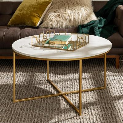Round – Coffee Tables – Accent Tables – The Home Depot With Regard To Simple Living Manhattan Coffee Tables (View 8 of 25)