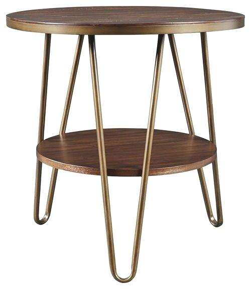 Round End Table Wood – Barrettrosse (View 13 of 25)