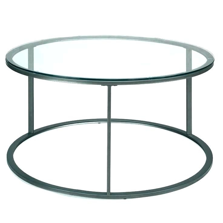 Round Glass End Tables – Shawandawells (View 11 of 25)