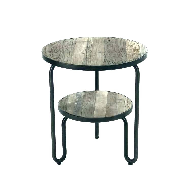 Round Mirrored Accent Table – Hifanclub With Silver Orchid Olivia Glam Mirrored Round Cocktail Tables (Image 22 of 50)