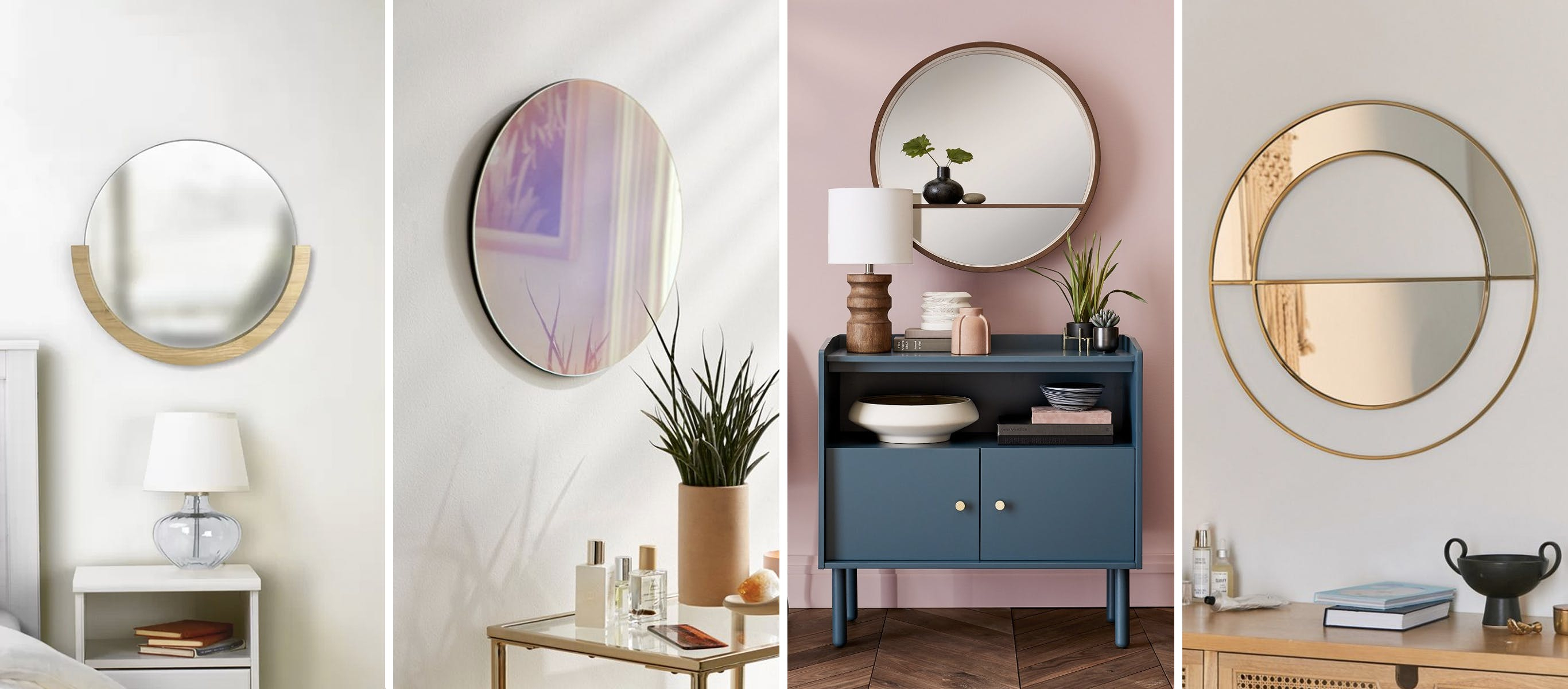 Round Mirrors For Wall Decor In The Home | Brit + Co Regarding Rhein Accent Mirrors (View 20 of 20)