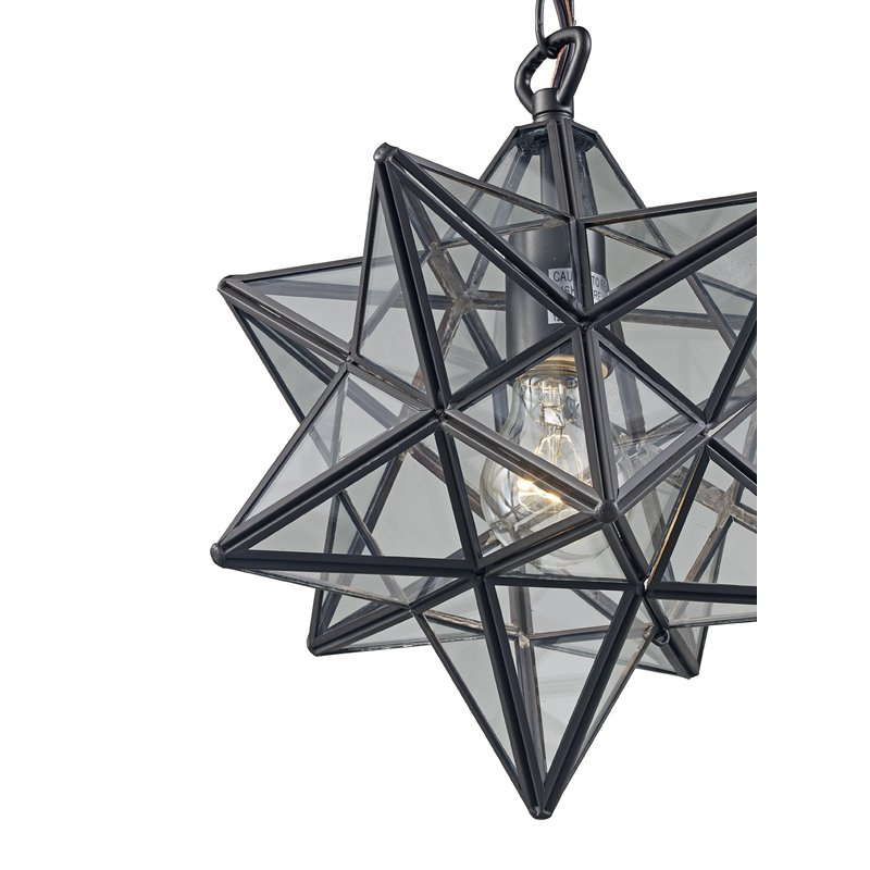 Rushville 1 Light Single Star Pendant Intended For 1 Light Single Star Pendants (Image 22 of 25)