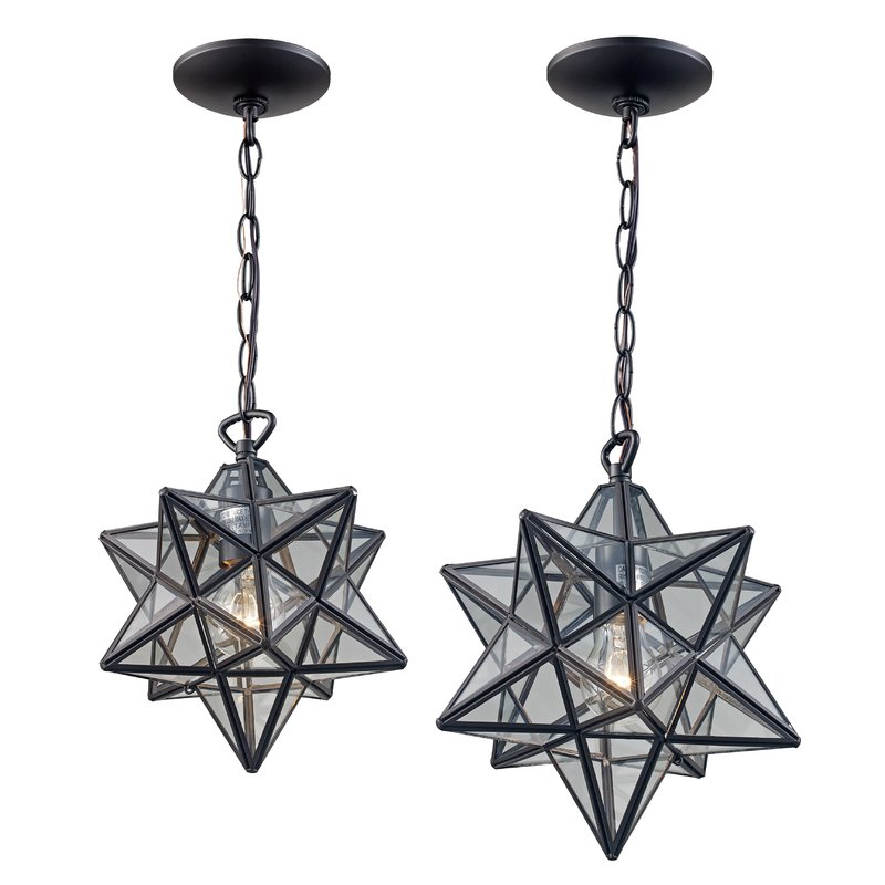 Rushville 1 Light Single Star Pendant Within 1 Light Single Star Pendants (Image 23 of 25)
