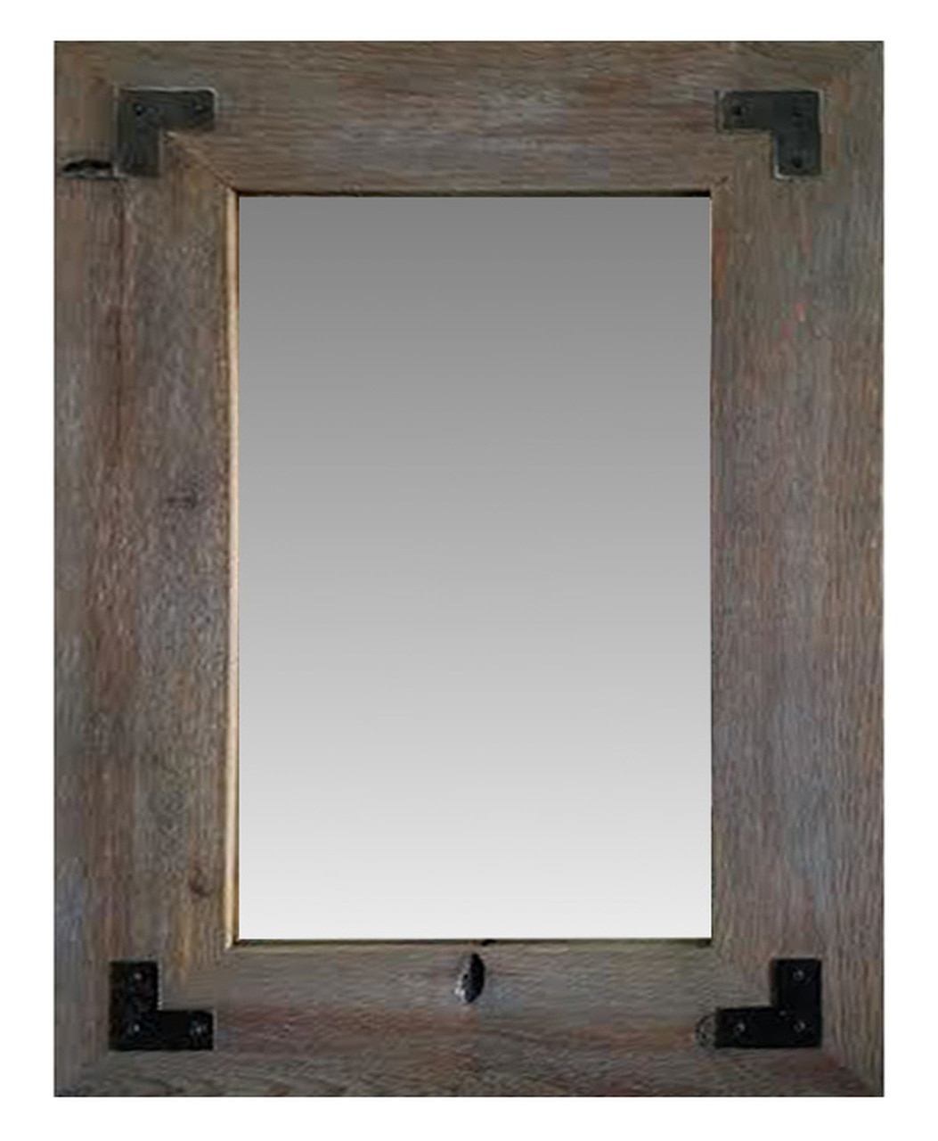 Rustic Mirrors | Wood, Metal & Farmhouse Framed Mirrors With Faux Window Wood Wall Mirrors (View 17 of 20)