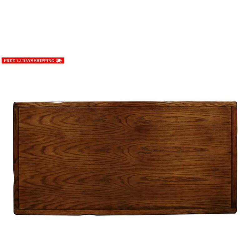 Rustic Slate Rectangular Coffee Table – Rustic Oak Finish Pertaining To Copper Grove Ixia Rustic Oak And Slate Tile Coffee Tables (View 22 of 25)
