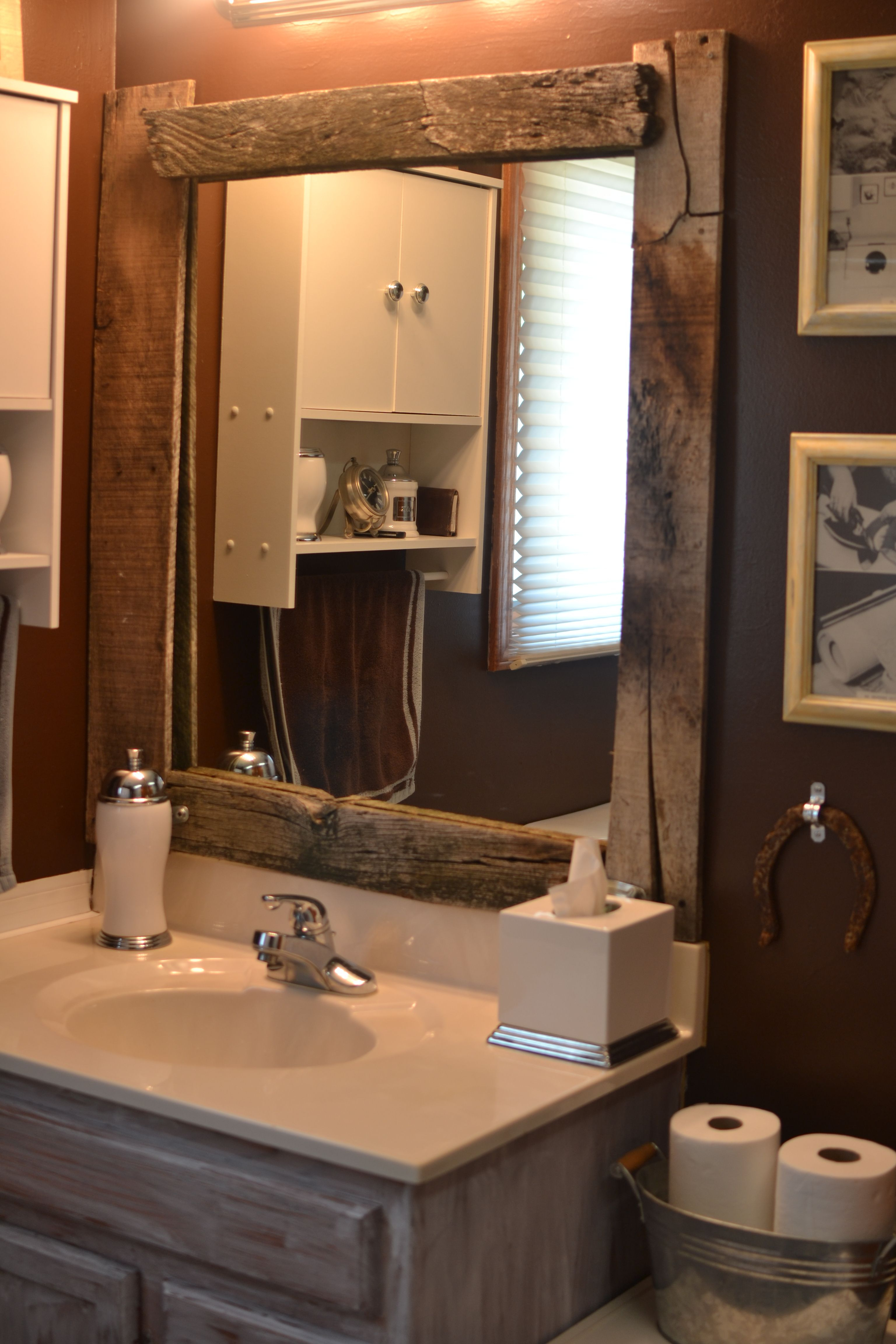 Rustic Vanity Mirrors For Bathroom – 16.cpdbl.streuobsttraum (Image 16 of 20)