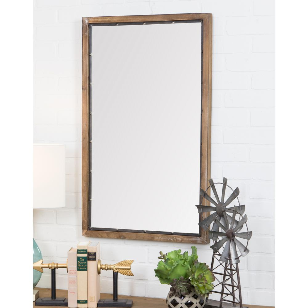 Rustic Wall Mirrors – Pmpresssecretariat Throughout Lajoie Rustic Accent Mirrors (View 20 of 20)