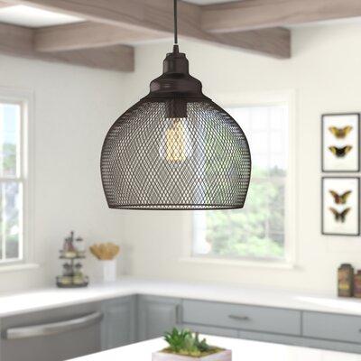Ryant 1 Light Single Dome Pendant Intended For 1 Light Single Dome Pendants (Image 21 of 25)