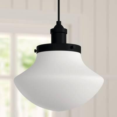 Ryker 1 Light Single Dome Pendant & Reviews | Birch Lane Regarding Ryker 1 Light Single Dome Pendants (View 25 of 25)
